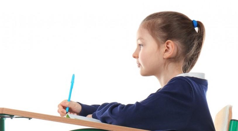 Выработка правильной осанки у школьника